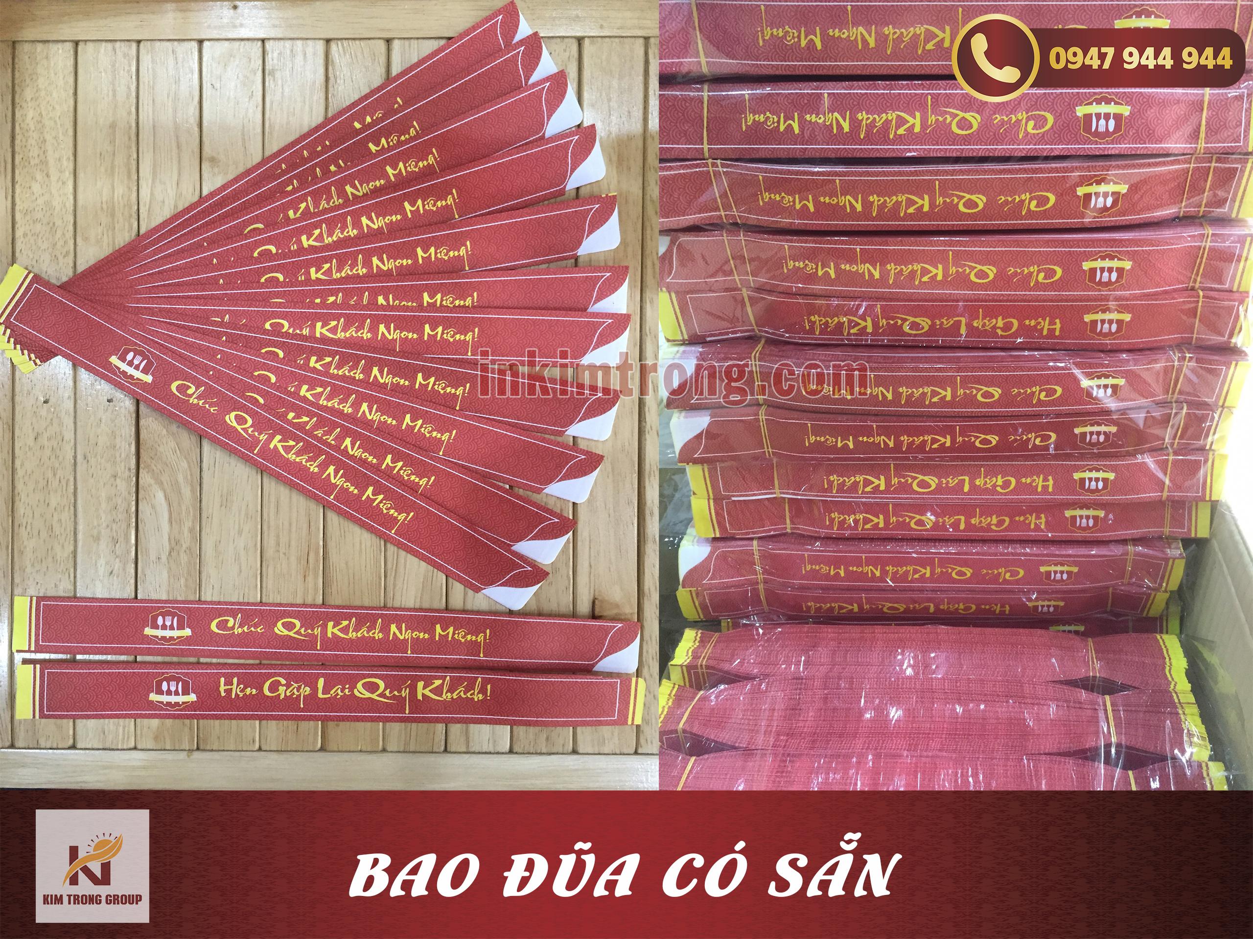 Bao đũa có sẵn đẹp rẻ